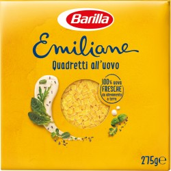 Barilla Emiliane Quadretti all'Uovo 275 gr.