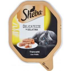 Sheba Delicatezze in Gelatina Trancetti con Pollo 85 gr.