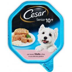 Cesar Senior 10+ con tenero Vitello e Riso in una delicata gelatina 150 gr.