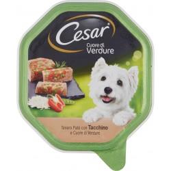 Cesar Cuore di Verdure Tenero Paté con Tacchino e Cuore di Verdure 150 gr.