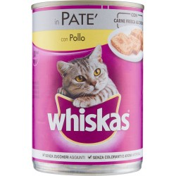 Whiskas in Patè con Pollo 400 g