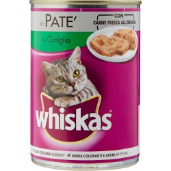 Whiskas in Patè con Coniglio 400 g