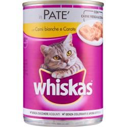 Whiskas in Patè con Carni bianche e Carote 400 g