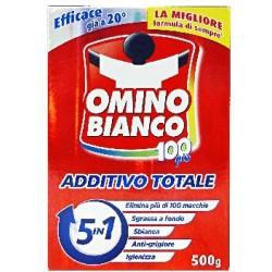 Omino Bianco 100 più Additivo Totale 5in1 500 gr.