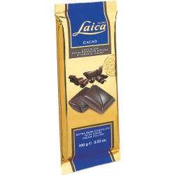 Laica tavoletta di cioccolato al latte ripiena di crema al cacao gr.100