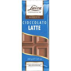 Laica blocco cioccolato al latte gr.200