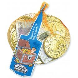 Laica retina monete e banconote cioccolato al latte gr.100