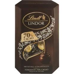 Lindt Lindor cornet extra fondente cacao 70% gr.200