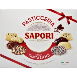 Sapori pasticceria rosso/oro gr.115