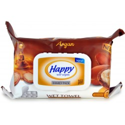 Happy salviette bimbi argan pz.102