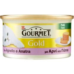 PURINA GOURMET Gold Gatto Patè con Agnello e Anatra lattina 85g