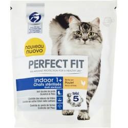 Perfect Fit indoor 1+ Gatti sterilizzati Ricco di Pollo 400 gr.