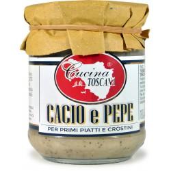 Cucina Toscana sugo cacio & pepe gr.180
