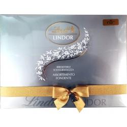 Lindor scatola assortiti cioccolato fondente gr.350