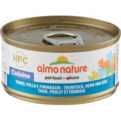 almo nature HFC Cuisine Tonno, Pollo e Formaggio 70 g