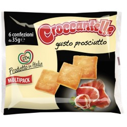 Croccantelle prosciutto multipack 6x35gr
