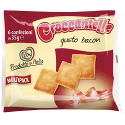 Croccantelle bacon multipack 6x35gr