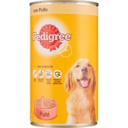 Pedigree Paté con Pollo lattina kg.1,25