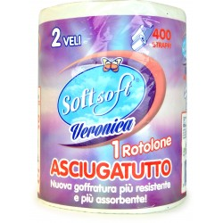Soft Soft veronica asciugatutto 400 strappi