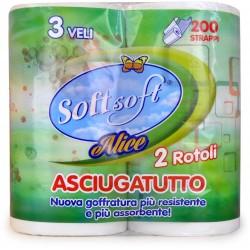 Soft Soft alice cucina 2 rotoli