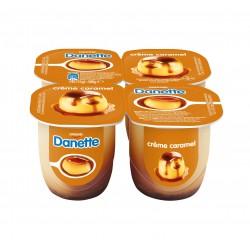 Danette crème caramel 4 x 125 gr.