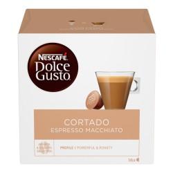 Nescafè dolce gusto Cortado espresso macchiato caffè macchiato 16 capsule (16 tazze)
