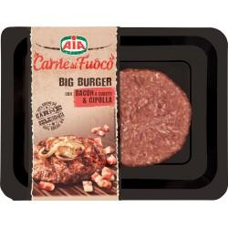 Aia Carne al Fuoco Big Burger con Bacon a Cubetti & Cipolla 180 gr.