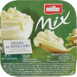 müller Mix Delizia al Pistacchio Yogurt al Pistacchio e Wafer al Cioccolato Bianco 150 gr.