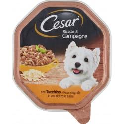 Cesar Ricette di Campagna con Tacchino e Riso integrale in una deliziosa salsa 150 gr.