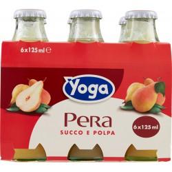 Yoga Pera Succo e Polpa 6 x 125 ml. vap