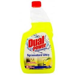 Dual power sgrassatore ricarica limone ml.750