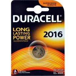 Duracell long lasting 3v 2016 x1pz