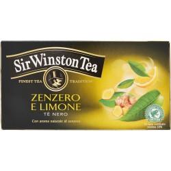 Sir Winston Tea Zenzero e limone tè nero 35 gr. 20 bustine