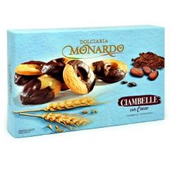 Monardo biscotti ciambelle con cacao gr.130