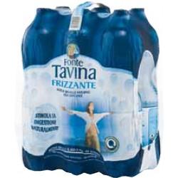 Tavina acqua frizzante lt.1,5x6