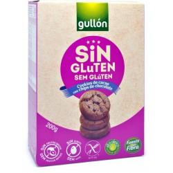 Gullon biscotti con chips cioccolato senza glutine gr.200
