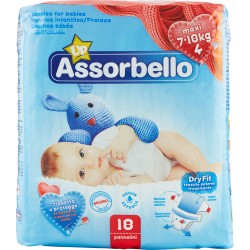 Assorbello Dryfit Up maxi 7-18 kg (taglia 4) 18 pz