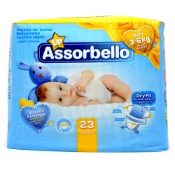 Assorbello Dryfity Up Mini 3-6 kg 23 pz