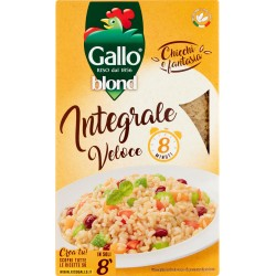 Gallo Chicchi e fantasia blond Integrale Veloce 8 Minuti 1 kg