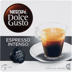 Nescafe dolce gusto intenso x 16 capsule
