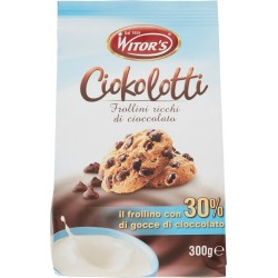 Witor's Ciokolotti frollini ricchi di cioccolato gr.300