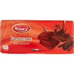 Witor's tavoletta cioccolato Fondente gr.100