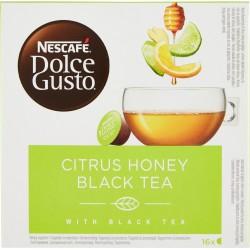 NESCAFÉ DOLCE GUSTO CITRUS HONEY BLACK TEA tè al gusto di agrumi,miele,zenzero 16 capsule