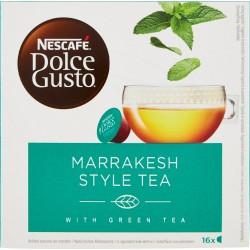 NESCAFÉ DOLCE GUSTO MARRAKESH STYLE TEA tè verde aromatizzato alla menta 16 capsule (16 tazze)