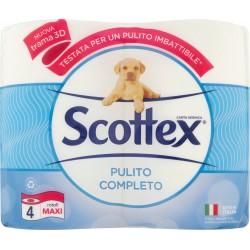 Scottex Pulito Completo Rotoli Maxi 4 pz.
