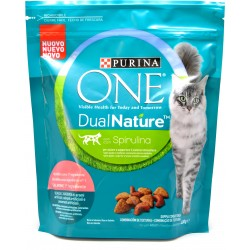 PURINA ONE Dual Nature Gatto Ricco in Salmone 400 gr.