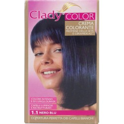 Clady shampo color nero blu n.1,1