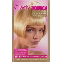Clady shampo color biondo ultra chiaro dorato n.10.3