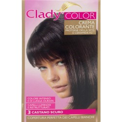 Clady shampo color castano scuro n.3