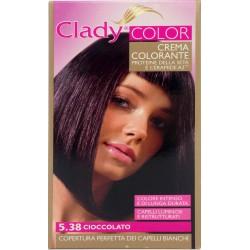 Clady shampo color cioccolato n.5.38